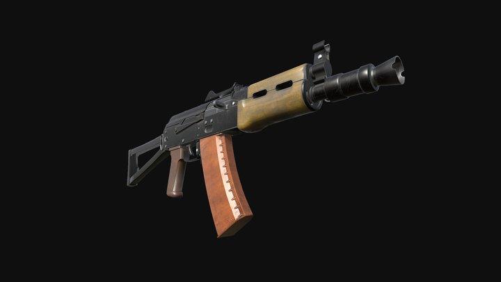 AKS-74U 3D Model