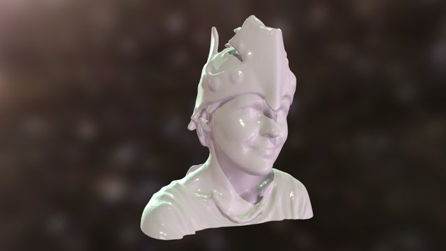 Jenya in a helmet 3D Model
