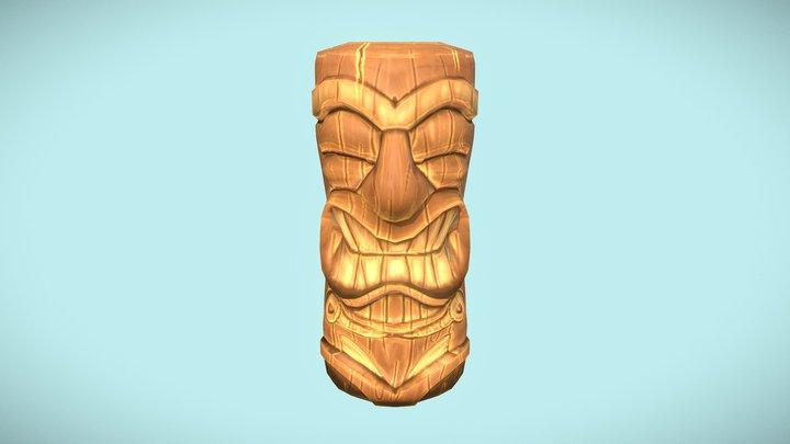 Tiki Totem 3D Model
