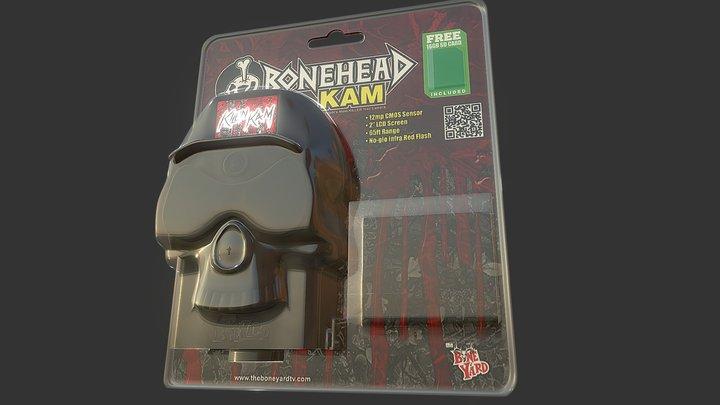 skull kam packaging 3D Model