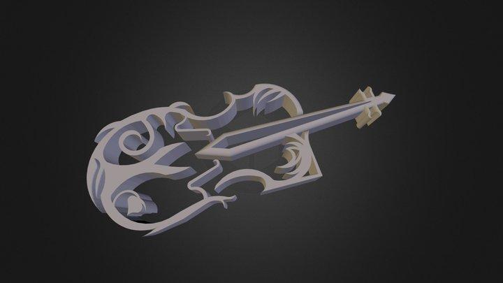 V I O L I N 3 D Print 3D Model