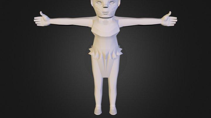 Elfo Uvs 3D Model