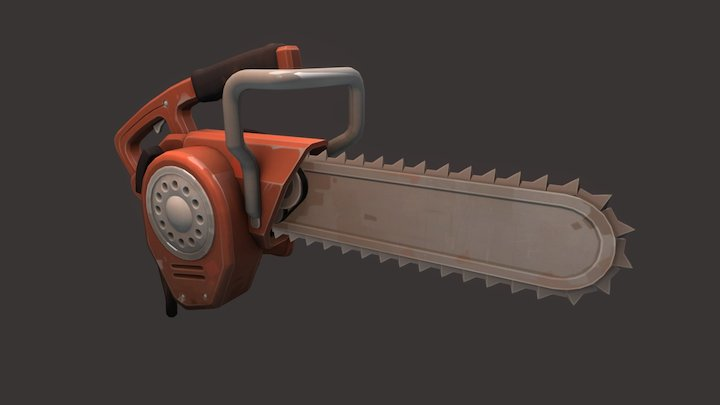 Painsaw 3D Model