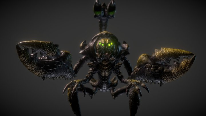 King Scorpion 3D Model