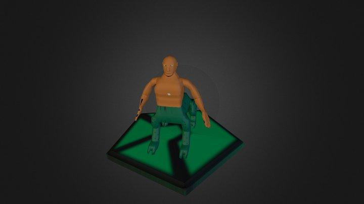 Humanoide OBJ 3D Model