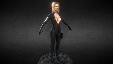 Anna T-Pose 3D Model