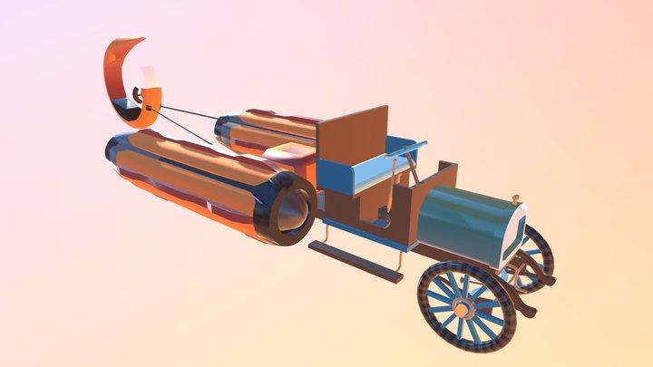 Camion Garford Podracer 3D Model