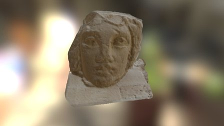 Sculpture from Hatra, Iraq 3D Model