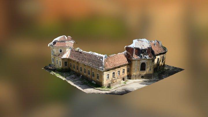 Old public bath house 3D Model