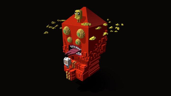 Golb - Adventure Time 3D Model
