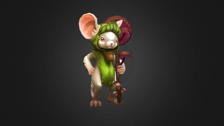 Mr. Mouse 3D Model