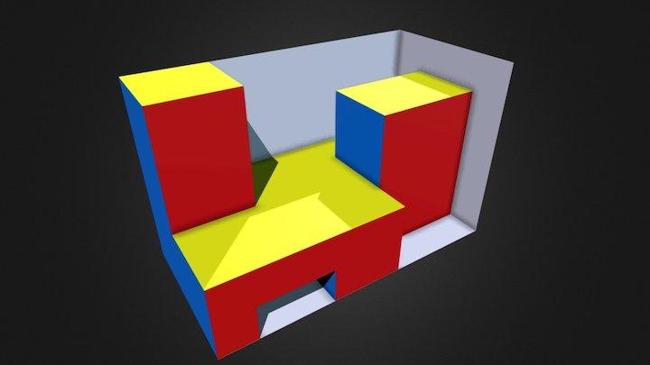 Obj02 D 3D Model