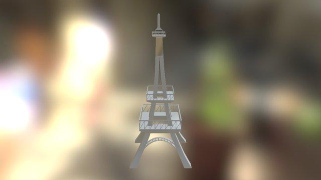 Torre Eifel 3D Model