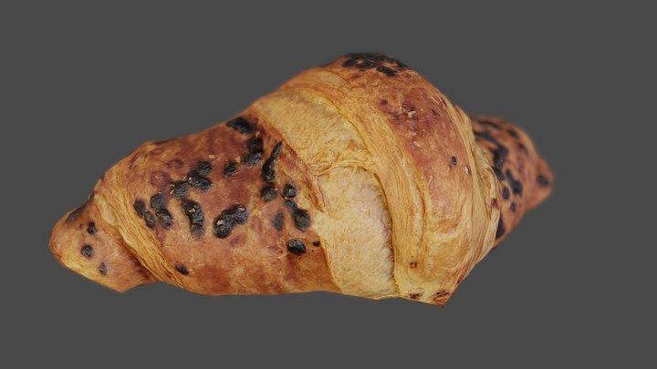 Choko Croissant - Low Poly - Photogrammetry 3D Model