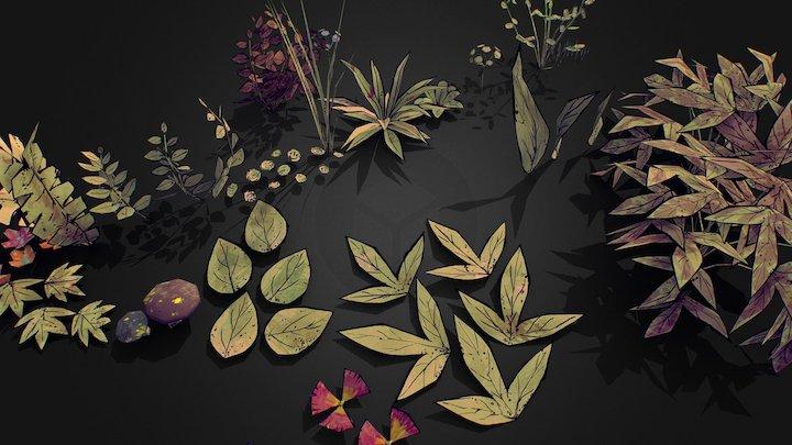 Plants kit 3D Model