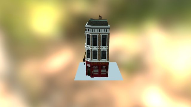 The World's End Pub London 3D Model