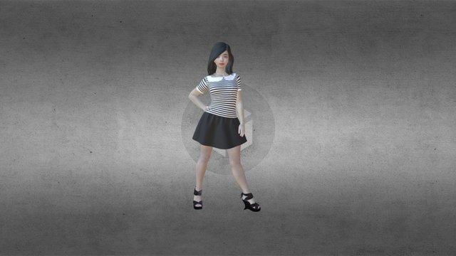 3D Phogure Female Outfit - 41 3D Model