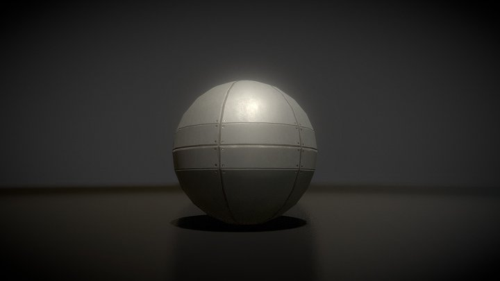 Sphere Bot 3D Model