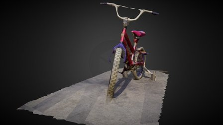 First3DScanBike 3D Model