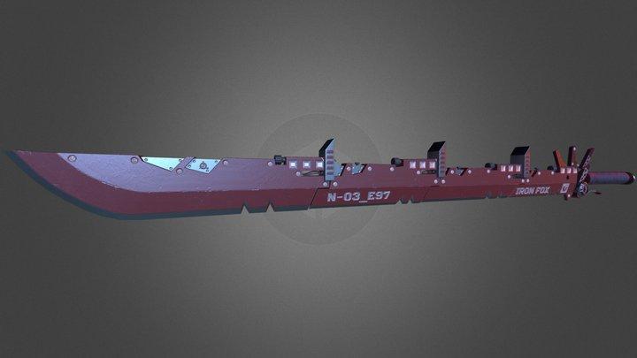 Iron Fox Blade 3D Model
