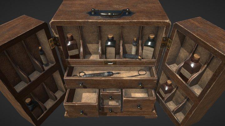 Medicine Cabinet 3D Model