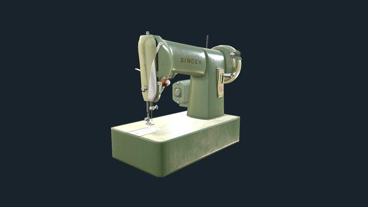Singer 185K Sewing Machine 3D Model