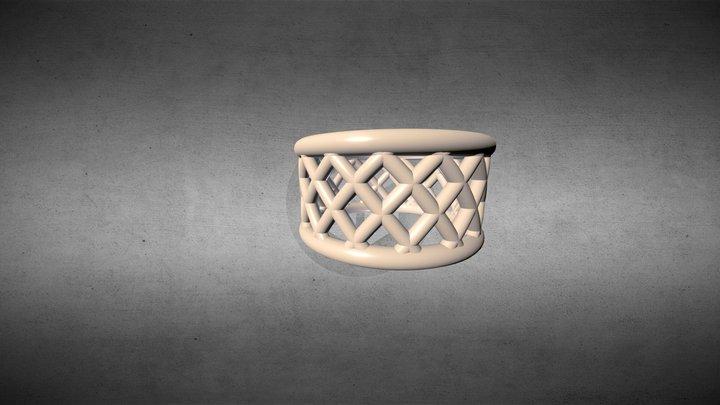 Bezier Ring 3D Model