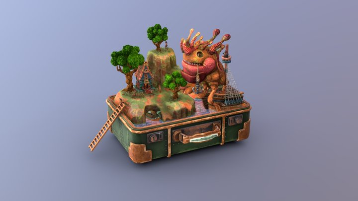 Memories of travel 3D Model