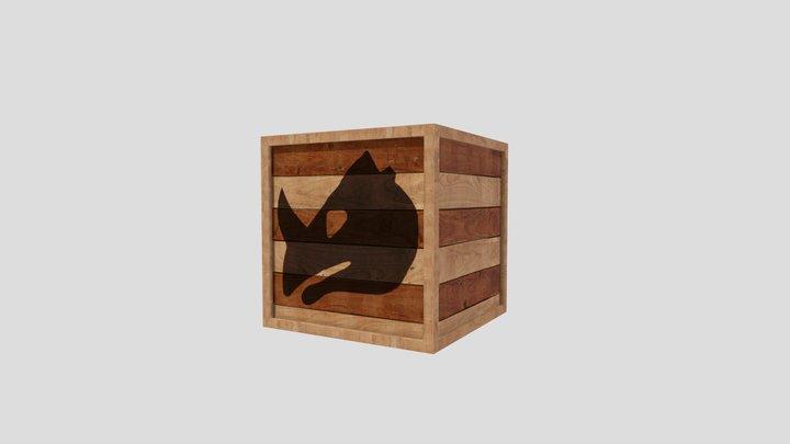 Donkey Kong Country 2 - Rambi Box 3D Model