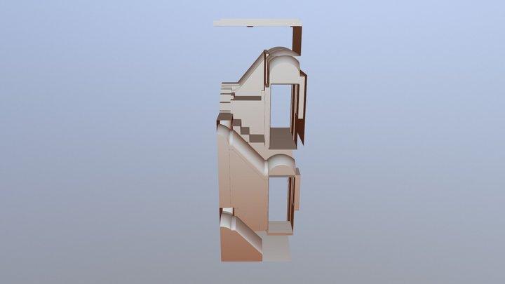 Palazzo del Verginese - Scala Rinascimentale 3D Model