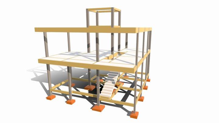 Estrutural Sobrado - Sr. Jaelson Maia 3D Model