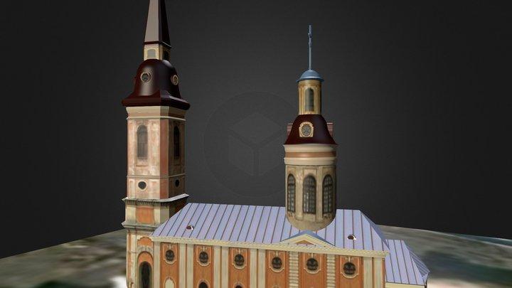 Благовещенский собор 3D Model