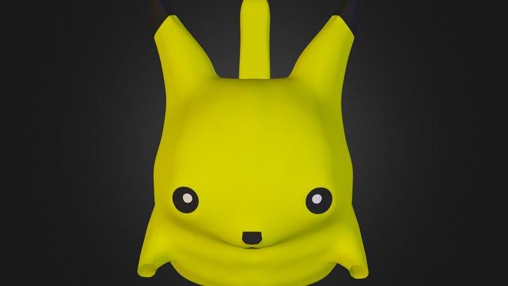 Pikachu WIP 3D Model