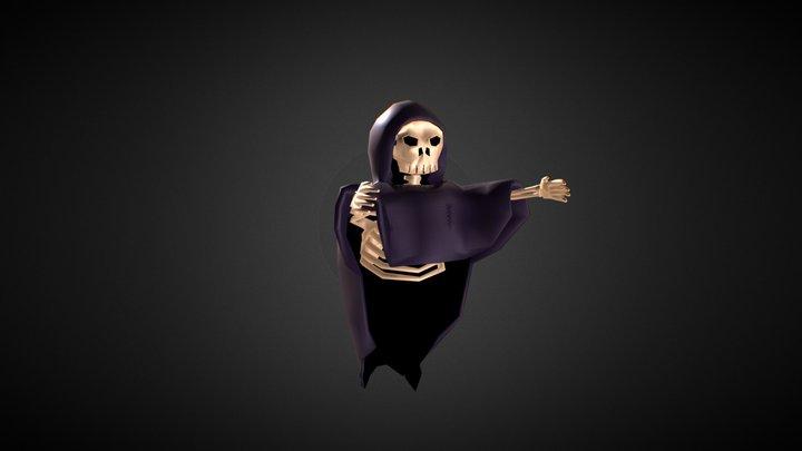 Reaper Rigged 3D Model