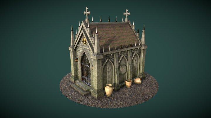 Gothic Mausoleum 3D Model