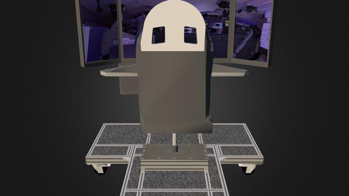 Poste Eleve 3D Model