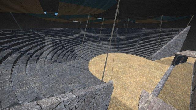 Amphitheater of Arykanda - copyright Sobee 3D Model
