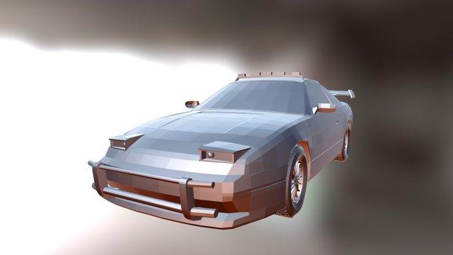Nissan 180 SX 3D Model