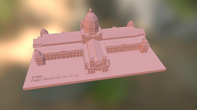 The Royal Exhibition Building, Carlton Gardens 3D Model