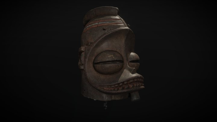Mask (Meshroom Photogrammetry) 3D Model