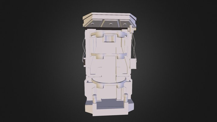Double MechStation 3D Model