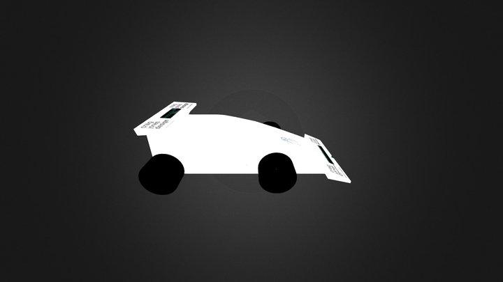 F1iS Falcons Car 3D Model