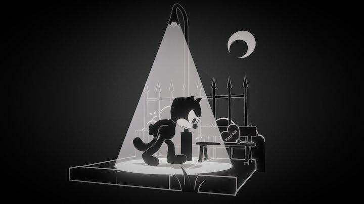 Felix The Cat 3D Model
