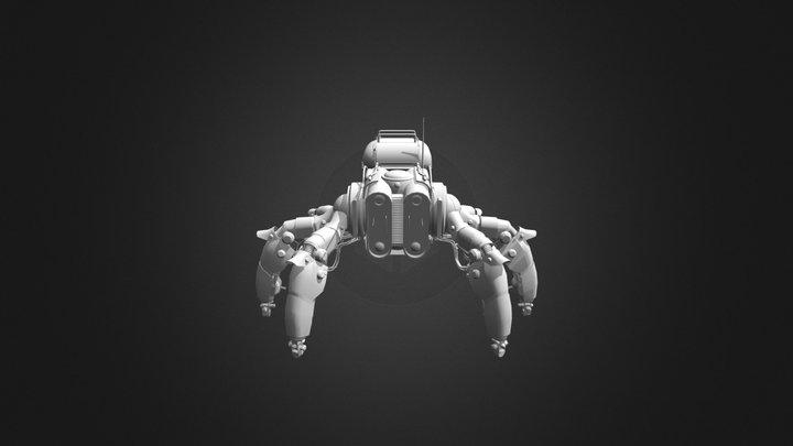 Mechanic Spyder 3D Model