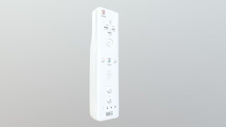 Wii Remote 3D Model