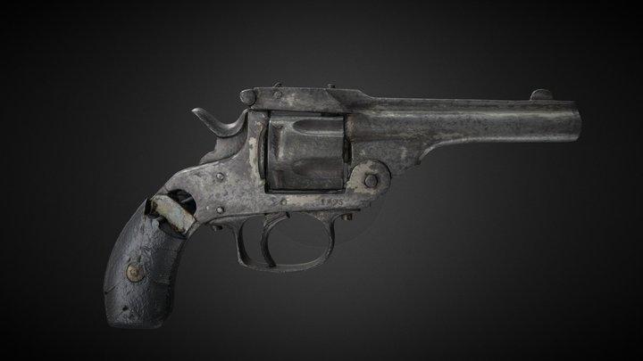 Revolver - Civil War at Ballymacool House 3D Model