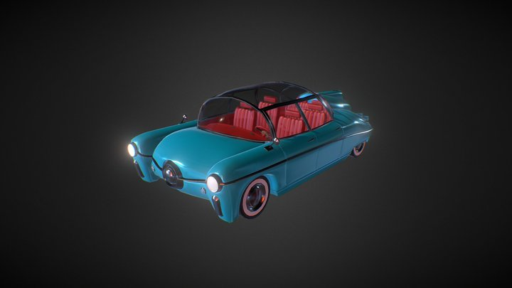 Station Wagon New 3D Model