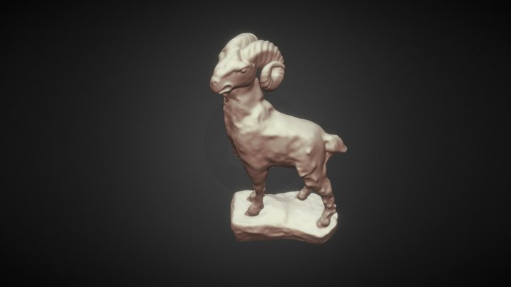 Muflón 3D Model