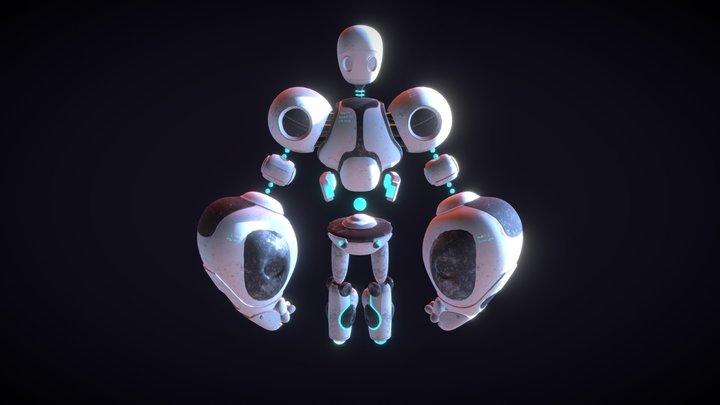 Robot3 3D Model