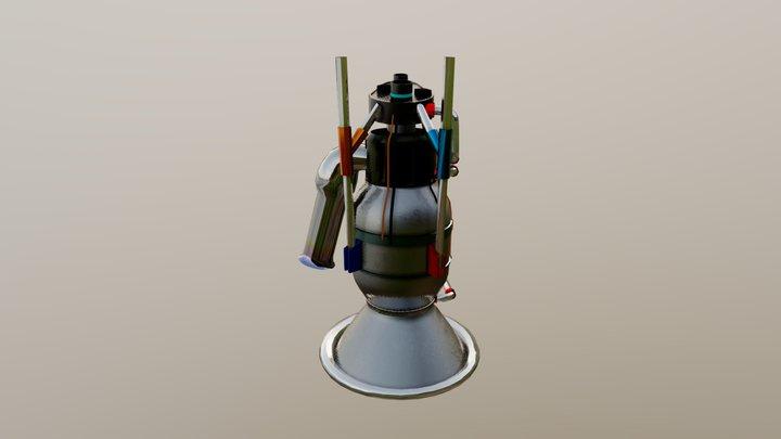 engine_base_01 3D Model